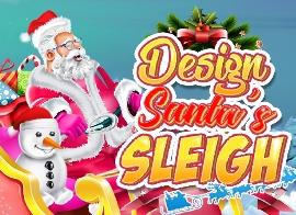 Design Santa Sleigh